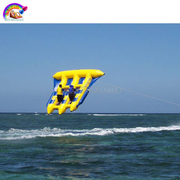 Inflatable flying fish water sports equipment for 6 players