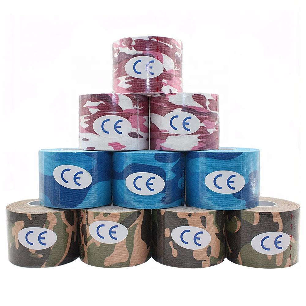 CE Waterproof Therapy Printed Muscle Sports Kinesiology Tape