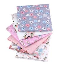Floral Series Twill Cotton Textiles Patchwork Fabric For DIY Sewing Quilting Crafts