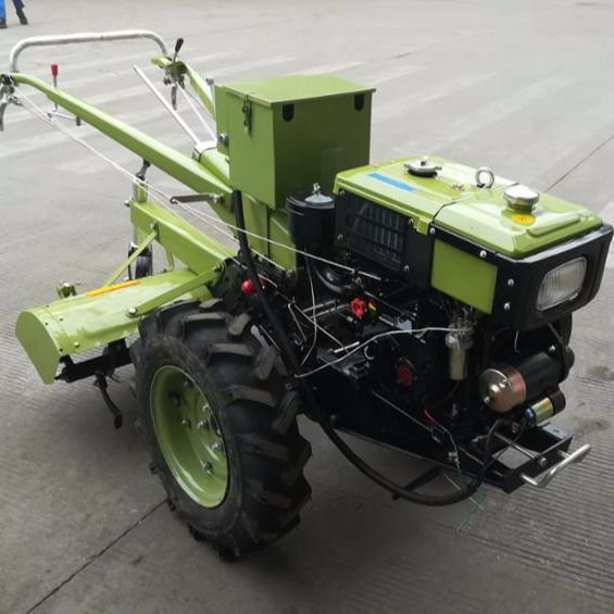 Best selling farm min cultivator two wheel hand walking tractor with power tiller for cultivator