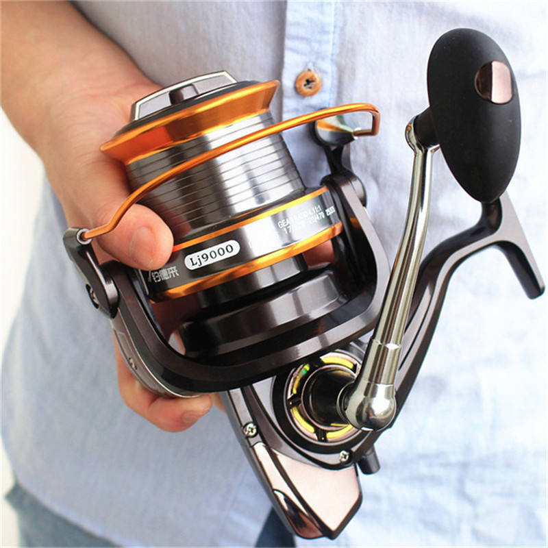 YOUME 3000-9000 Size 12+1 Ball Bearings Big Trolling Fishing Reels Feeder Metal Fishing Reel Carp Surf Casting Reel