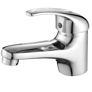 Modern Chrome Solid Brass Single Lever Bathroom Basin Sink Mixer Tap NO.B025