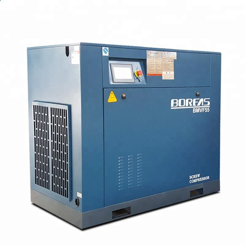 Kaishan compressors 15kw 20hp Permanent Magnet motor variable frequency energy saving screw air compressor machines