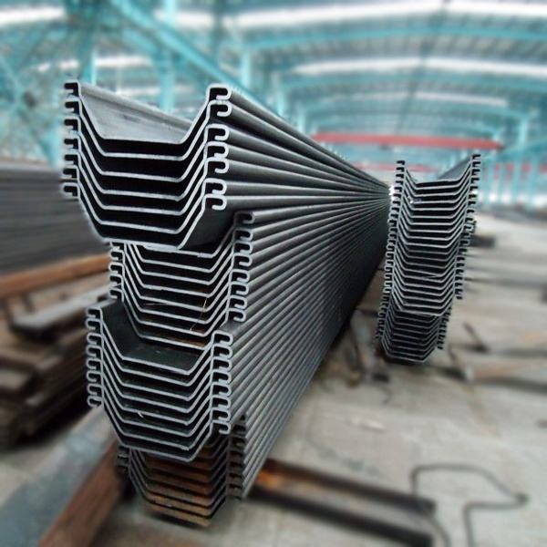Rendah Harga Type Hot Rolled Steel Sheet Pile Korea