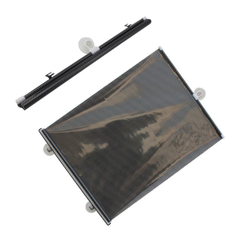 Car Window Roller Shade Retractable Car Sunshade for Front Window