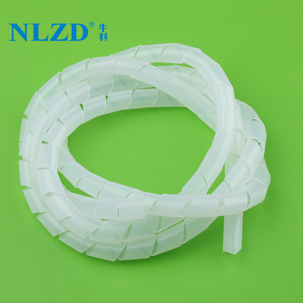 Plastic spiral wrapping band cable sleeve wire straps