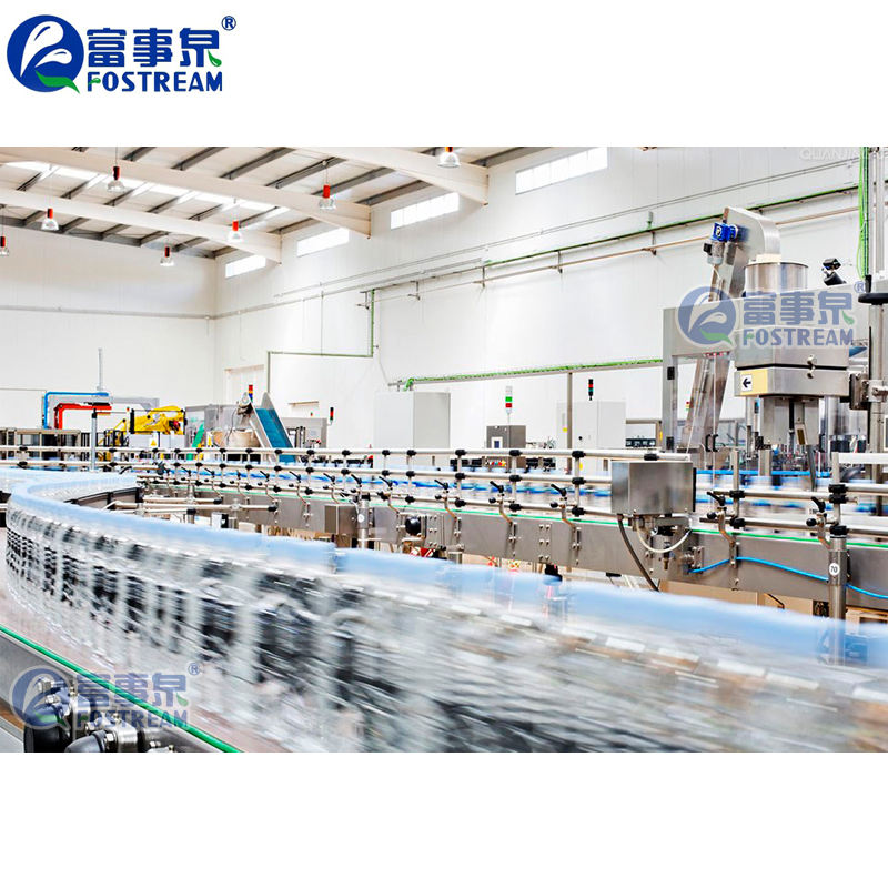 Complete Filling Mineral Water Machine / Spring Water Bottling Equipment Prices
