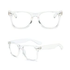 Fashion Retro Gift Computer Eye Protection Clear 100% Anti Blue Light Blocking Glasses