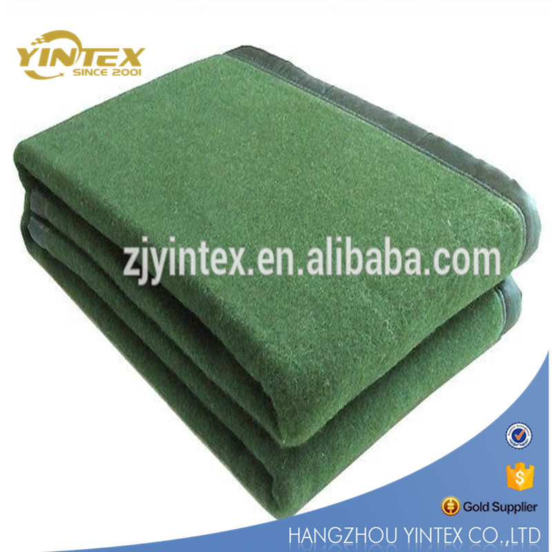 Hot Selling Home Or Military Used Wool Blanket Wholesale Hotel Blanket