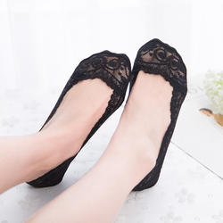 Wholesale Invisible Women Lace Low Cut Socks