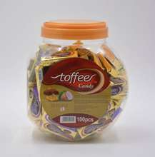 Super Star jar pack soft caramel toffee candy