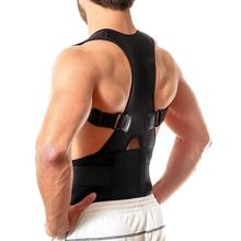 Thoracic Back Brace Posture Corrector Magnetic Support for Upper Back Pain Relief Brace With Adjustable Belt