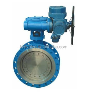 electric motor operated valve / large size butterfly valve / dn400 butterfly valve