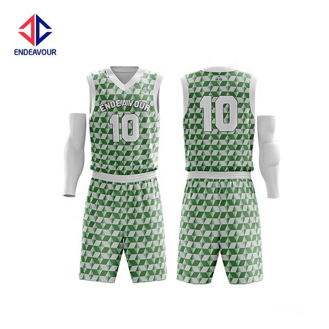 Sublimation print style european basketball jerseys for men