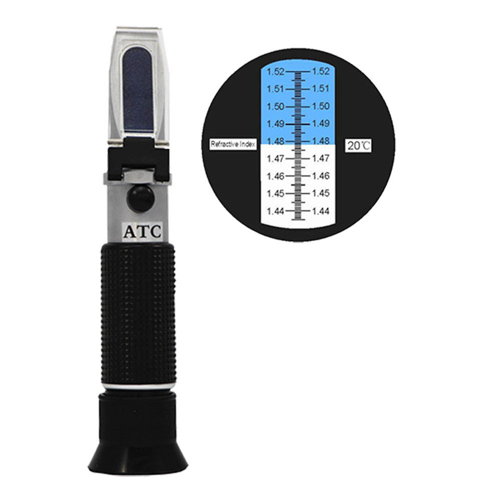 refractometer for oil testing refractometer with refractive index 1.440-1.520nd