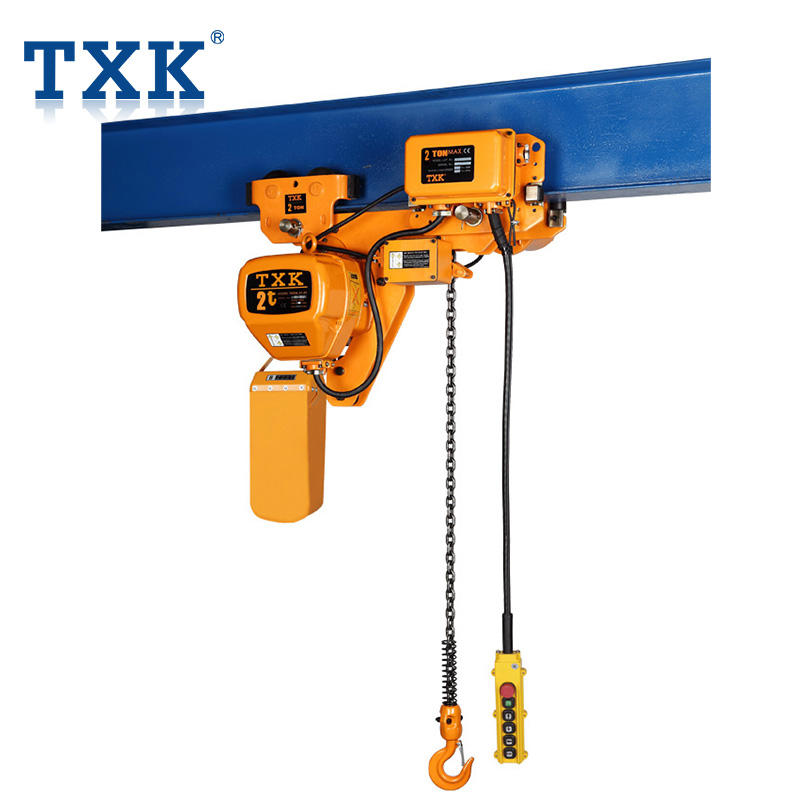 TXK Mould Lifting Electric Car Chain Hoist For Workshop