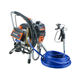 Brushless electric diaphragm airless paint sprayer Auto Spray Paint Machine MK-595A