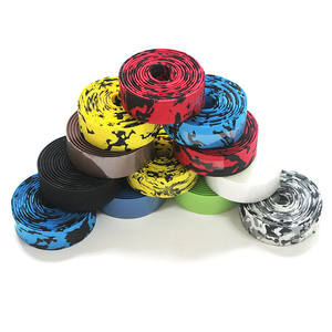 YOUME 2pcs Bicycle Road Bike Sports Handlebar Tape +2 Bar Plug Road Bike Bicycle Handlebar Tape Colorful Cycling Bandage