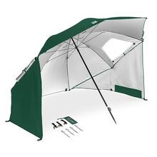 FUJIE UPF 50+ Sun Shelter Tent Beach Umbrella Tent Portable Sun and Weather Shelte
