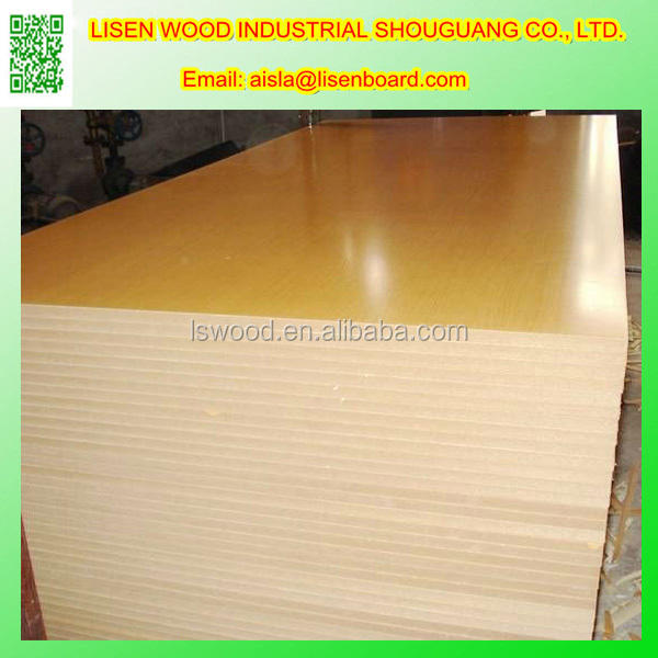 Black Melamine Laminted MDF Board, Ash Veneer Laminated MDF Wood Panel