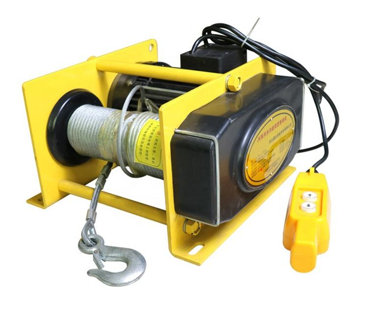 Steel Wire Rope Winch KCD 500kg Multifunctional Electric Winch