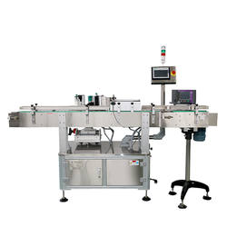Full Automatic round rose jam Labeling Machine with Date Coding
