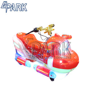 EPARK Cute Flyman lottery ticket video games electric motorcycle coin amusement for sale