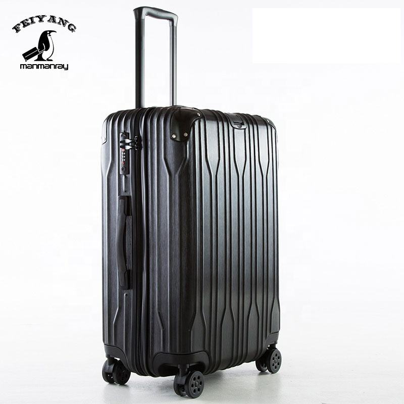 OEM suitcases for travel ABS luggage set airport lightest travel trolley luggage bag