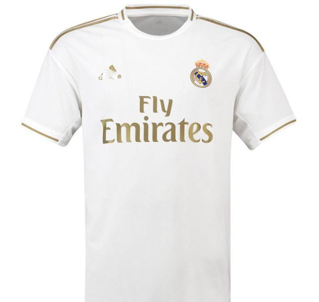 Real M football jersey