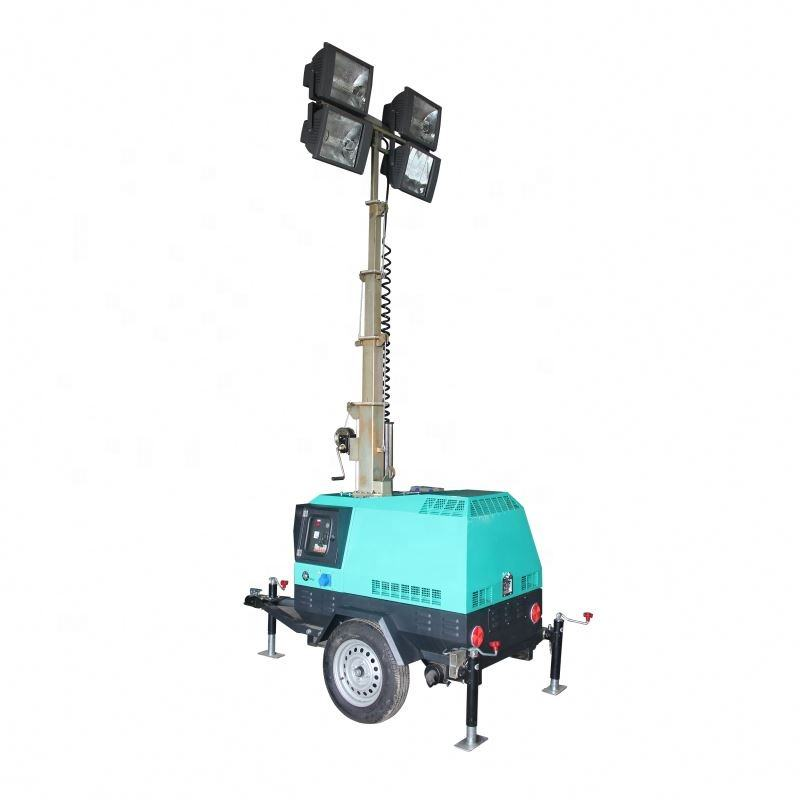 New condition, 7M diesel engine construction /stadium tailer light tower with good price for sale