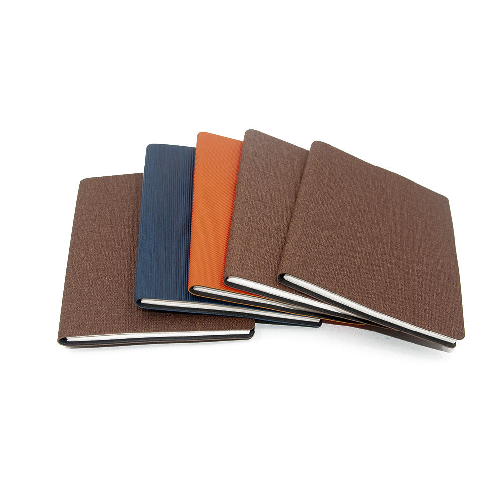 Quick Production -A6 various colors PU leather softcover notebook