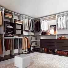 Solid wood bedroom  walk in wardrobe of new designs with dressing table