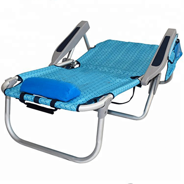 Best selling products in europe folding beach chair fold up beach chair with storage pouch