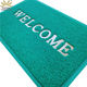 Factory welcome noodle entrance mat pvc coil door mat
