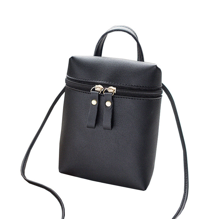 Simple Creative Mobile Phone Ladies New Trend Casual Shoulder Bucket Bag