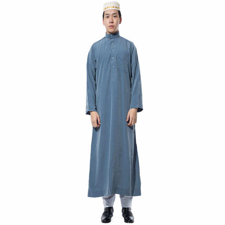 Men's Thobe's ,Saudi Daffah Thobes Arabian Robes Of Muslim Clothing,Mens Thawb Top Velvet Daffah Thobe