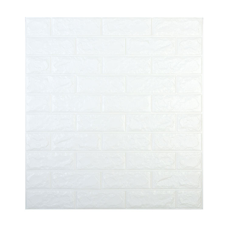 MU CAI Stone Wall Panel 70*77cm XPE Foam 3D Wallpaper For Bedroom
