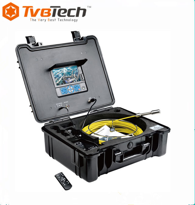 20M Cable 7'' TFT LCD Sewer Pipe Inspection Camera System Kit Color Sony 1/3 CCD Borescope Endoscope Tube Snake Camera For Sale