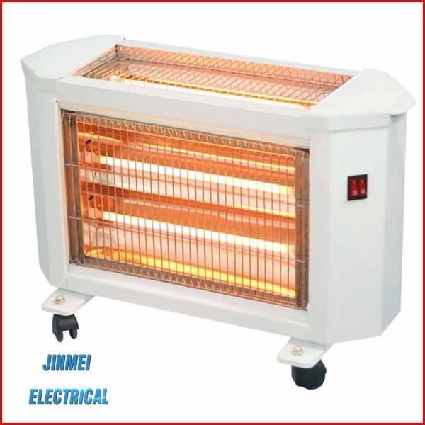 الكهربائية مشع الحرارة-- زاوية واسعة عاكسات qh-1200a سخان الكوارتز سخان كهربائي