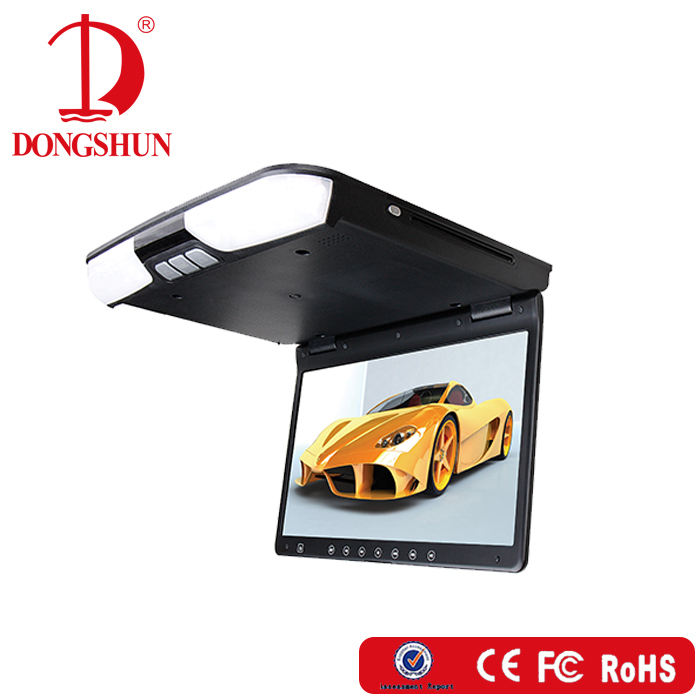 15.6 inch High Definition Ceiling Screen to Car DVD Player with USB SD Led