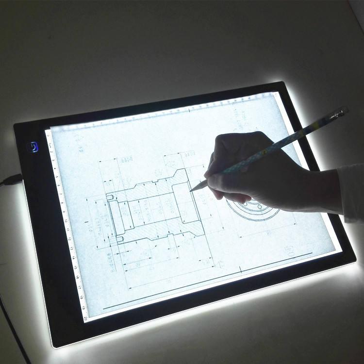 прозрачный планшет для рисования из оргстекла картинка днем рождения