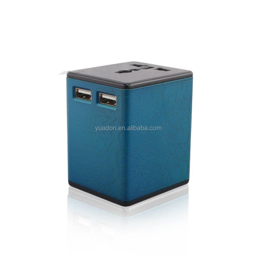 Hepsi Tek Akıllı 100-250 V AC Giriş Evrensel Adaptör Ile <span class=keywords><strong>Seyahat</strong></span> Uluslararası Adaptörü USB
