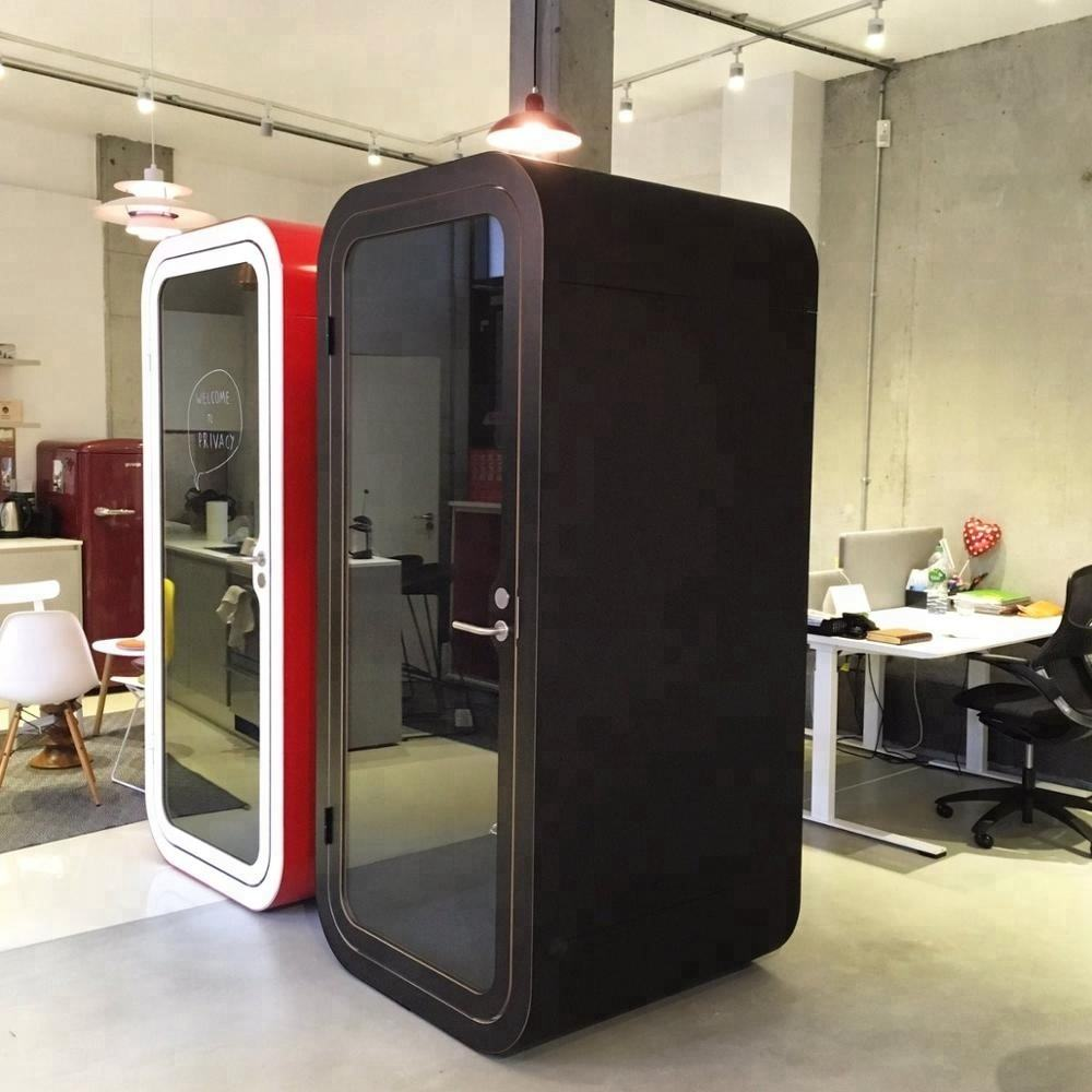 Private office soundproof meeting pods