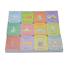 Custom  Memory Learning Game Cards Printing For Students Educational Card Game