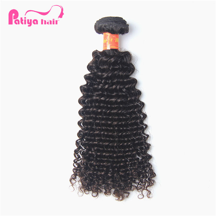 Long and Thick No Dry End Grade 9A Original Mink Brazilian Deep Curly Human Hair Weave