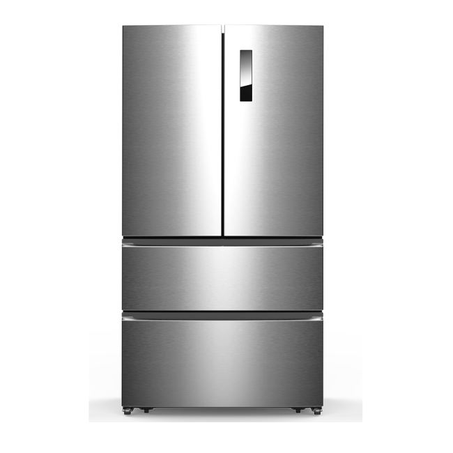 558L Electronic Automatic Frost Free Fridge Side By Side French Door Refrigerator With Water Dispenser