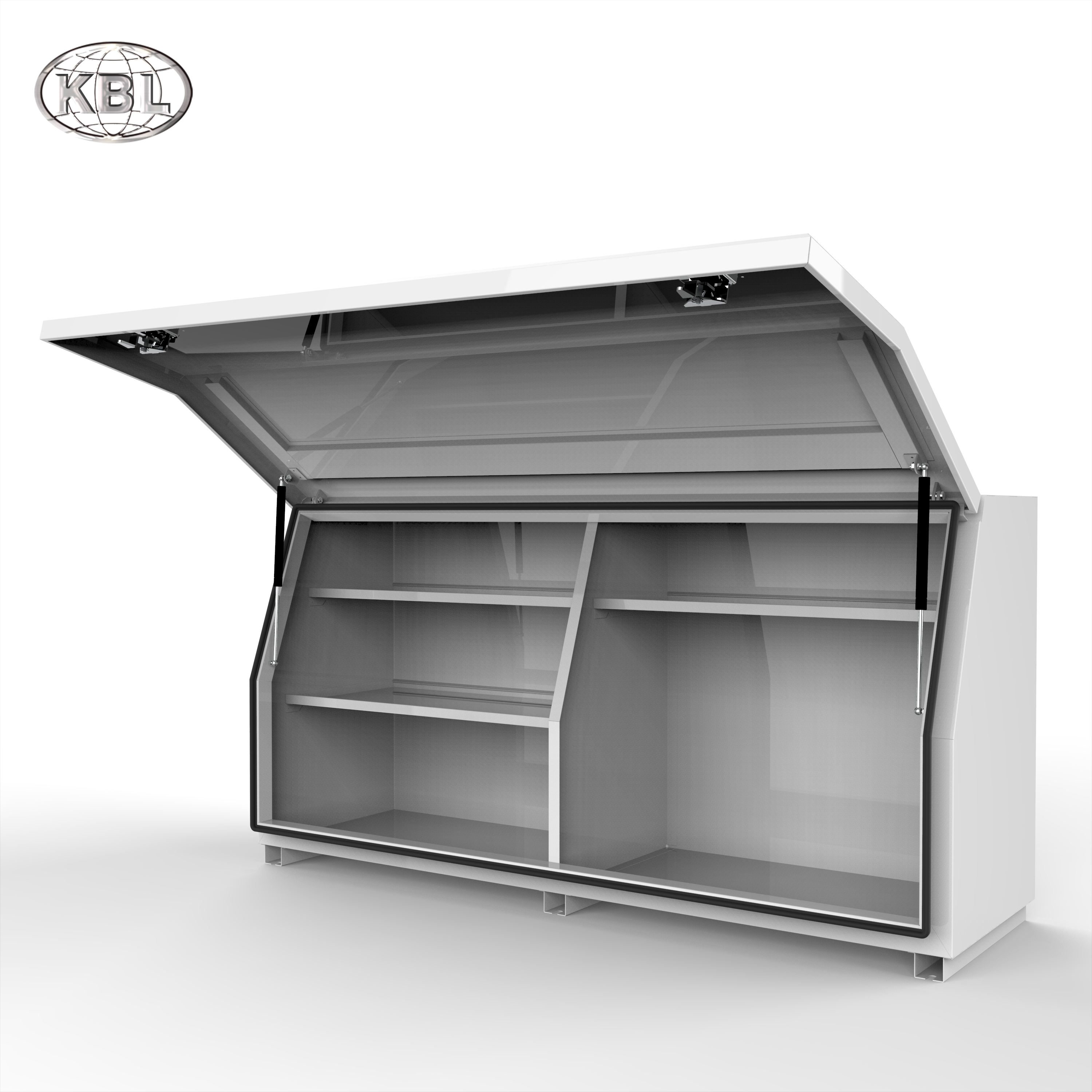 Powder Coated Aluminum Ute ToolBox/Aluminum Mine Tool Box