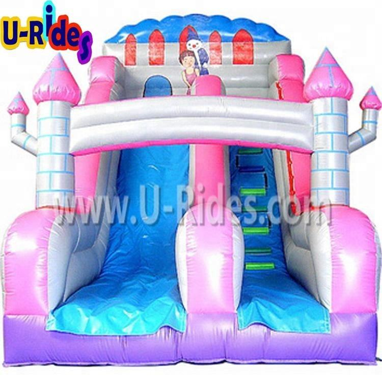 custom cartoon slip n slide inflatable durable inflatable water slide inflatable castle with slide