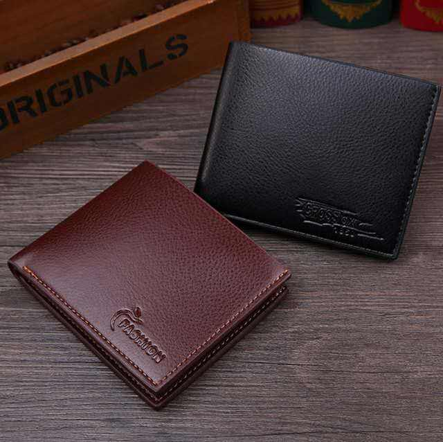 Mens wallet pu leather clutch money clip coin wallet for men genuine leather iphone case wallet