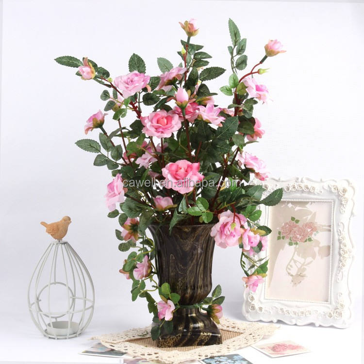 artificial plastic rose tree